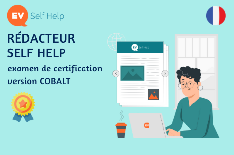 Rédacteur Self Help [COBALT] (CORP-C-SHW-Cob-FR)