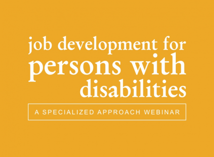 Job Development for People with Intellectual Disabilities (4)