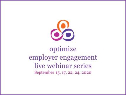 Optimize Employer Engagement Live Webinar Series September 2020 (2)