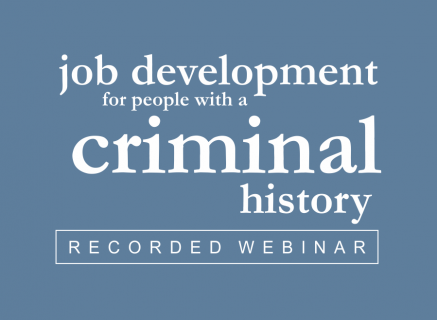 Job Development for People with a Criminal History (4)