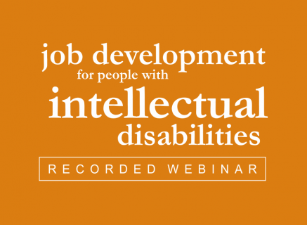 Job Development for People with Intellectual Disabilities (5)