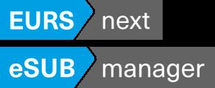 eSUBmanager/EURSnext Basic Training Course