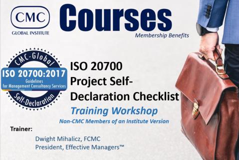 GIC-002 ISO20700 Pre-requisite Non-CMC IMC Members (Module 2) [EN] (GIC-002)