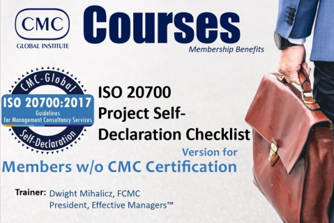 GIC-002 ISO 20700 Training for IMC Members (Modules 2+3) [ENGLISH] Revision May 2020 (GIC-002)