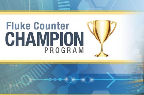 Fluke Counter Champion Program