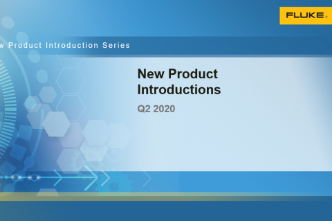 Fluke New Product Introductions Q2 2020 - Distributors