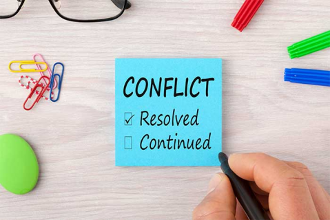 Managing Conflict in an Adult Care Setting (man-con-ad)