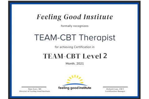 Level 2 TEAM-CBT Application