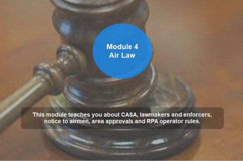 RePL - Module 4 - Operational rules and air law for RPAS (RePL104)