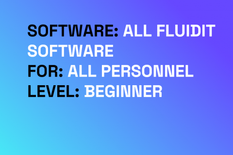Introduction to Fluidit software