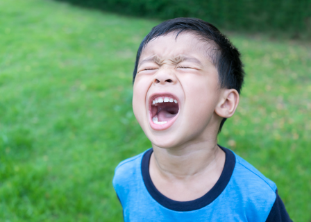 Managing a child's anger (ANGER)