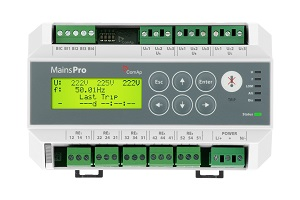 Operating a Comap Mains Pro Protection Relay