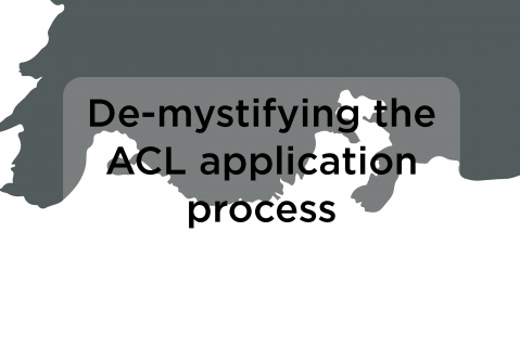 De-mystifying the ACL application process