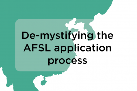 De-mystifying the AFSL application process