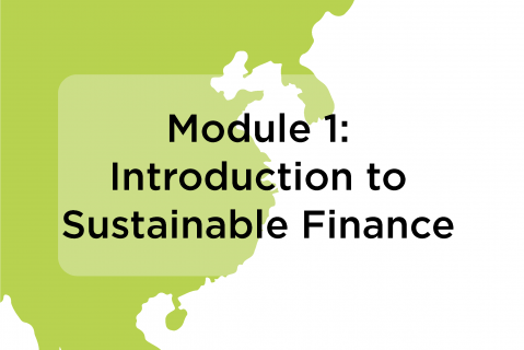 Module 1: Introduction to Sustainable Finance