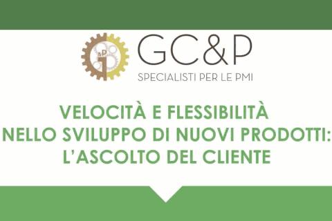 Velocità e flessibilità nello sviluppo dei nuovi prodotti: L'ascolto del cliente (1S0200020)