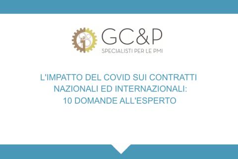 L'impatto del COVID sui contratti nazionali ed internazionali: 10 domande all'esperto (1S0400010)