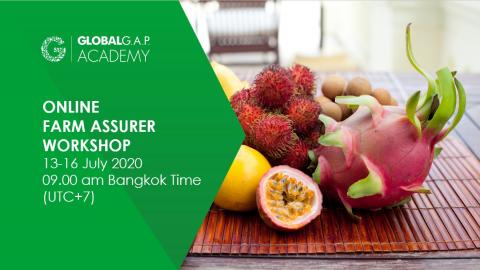 13-16 july 2020 | Online Farm Assurer Workshop | English (19-311)