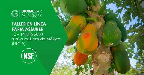 13-16 julio 2020 | Online Farm Assurer Workshop | Español (20-215)