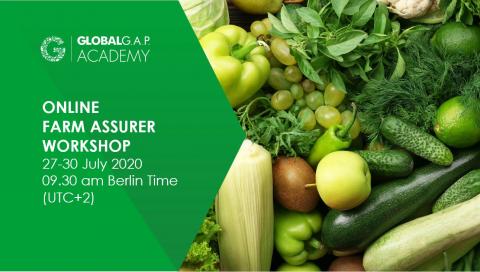 27-30 july 2020 | Online Farm Assurer Workshop | English (22-314)