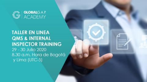 29-30 julio 2020 | Online QMS and Internal Inspector Training | Español (25-318)
