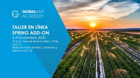 3-4 Noviembre 2020 | Taller en línea SPRING Add-On | Español (50-351)