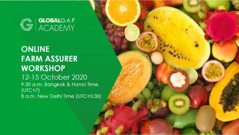 12-15 October 2020 | Online Farm Assurer Workshop | English (45-362)