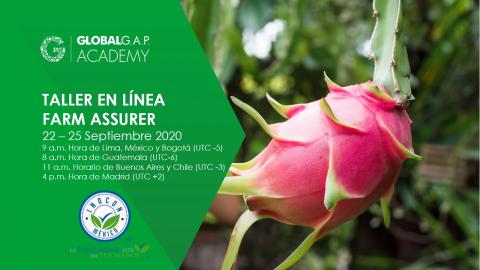 22-25 Septiembre 2020 | Taller en línea Farm Assurer | Español (38-368)