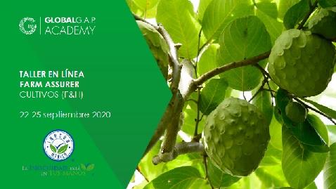 22-25 Septiembre 2020 | Taller Farm Assurer (cultivos) | En línea (38-368)