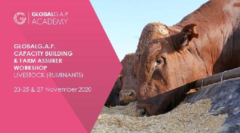 23-25 & 27 November 2020 | Farm Assurer Workshop (Livestock, Ruminants) | Online (58-248)