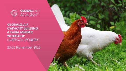 23-26 November 2020   Farm Assurer Workshop (Livestock, Poultry)   Online (59-378)