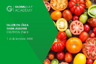 1-4 diciembre 2020 | Taller Farm Assurer (cultivos) | En línea (62-357)