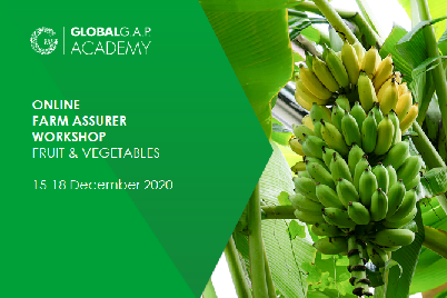 15-18 December 2020 | Farm Assurer Workshop (F&V) | Online (67-419)