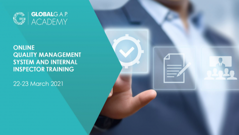 22-23 March 2021 | Online QMS and Internal Inspector Training | English (004-494)