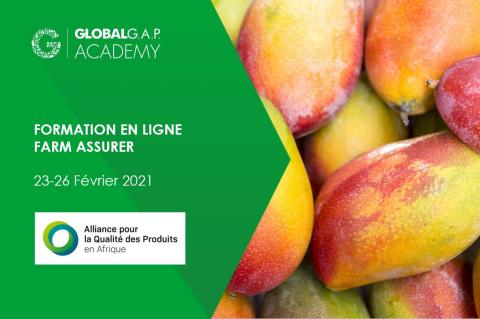23-26 Février 2021   Formation en ligne Farm Assurer (002-518)