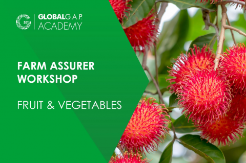 22-25 June 2021 | Farm Assurer Workshop (F&V) | Online (022-580)