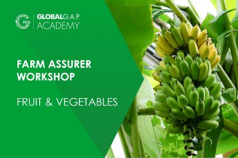 20-23 April 2021 | Farm Assurer Workshop (F&V) | Online (005-483)