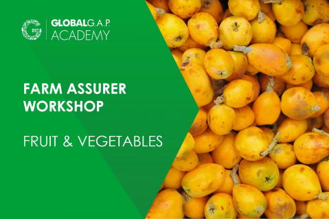 13-16 July 2021 | Farm Assurer Workshop (F&V) | Online (030-484)