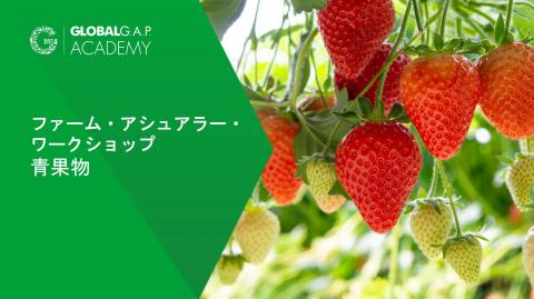 2021年3月29-31日 |ファーム・アシュアラー・ワークショップ 青果物 | Online (005-542)