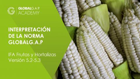 20-21 mayo 2021 | Taller de Interpretación de la Norma GLOBALG.A.P. (IFA Versión 5.2-5.3) | En línea (012-539)