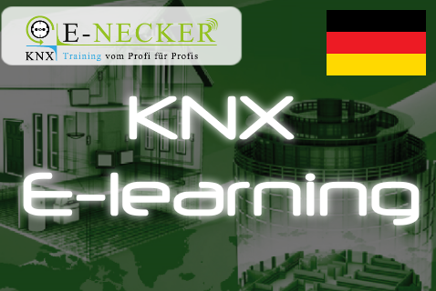 E-learning Grundkurs KNX - Deutsch (ENE-KNX-BC-DE)