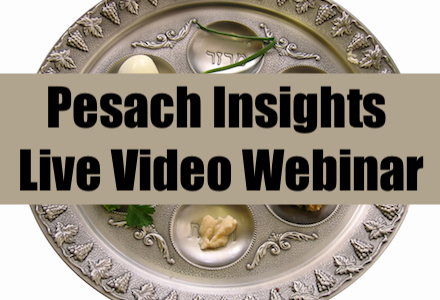 Pesach Insights - Men