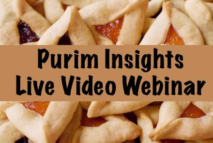 Purim Insights - Men