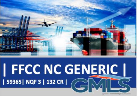59365 | Generic | Freight Forwarding & Customs Compliance (NQF 3 GEN)