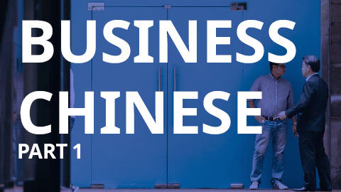 Business Chinese Level 1 (BCL1-VIP)