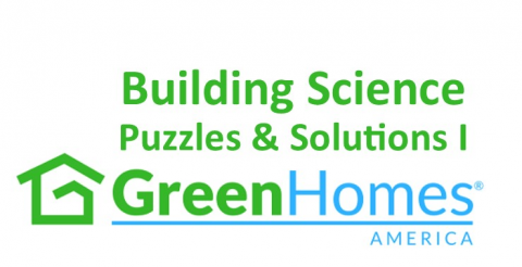 Building Science Puzzles & Solutions I - 0.75 CEU