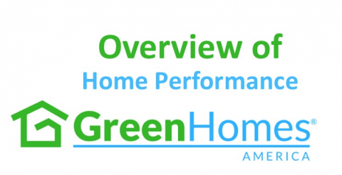 Overview of Home Performance