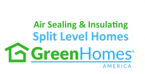 Air Sealing and Insulating Split Level Homes - 1 CEU