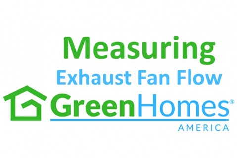 Measuring Exhaust Fan Flow - 1 CEU