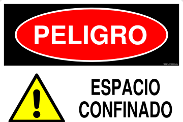 Espacios Confinados.   Confined Space -Spanish -